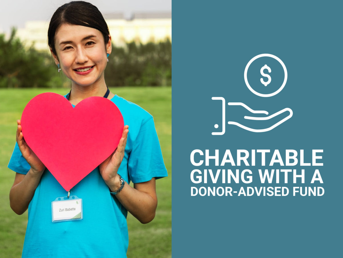 Charitable Giving With a Donor Advised Fund
